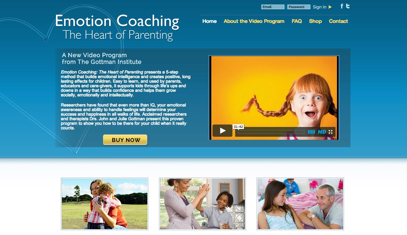 Gottman Emotion Coaching