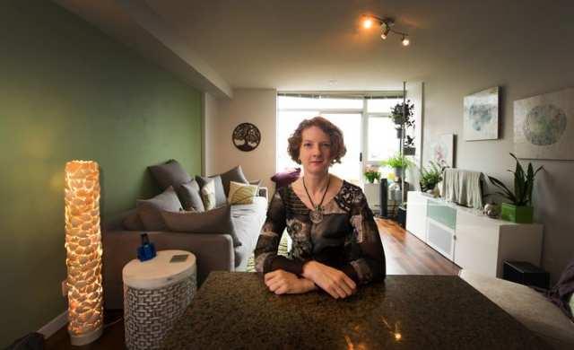 Kirsten Starcher. Photo by Arlen Redekop for the Vancouver Sun