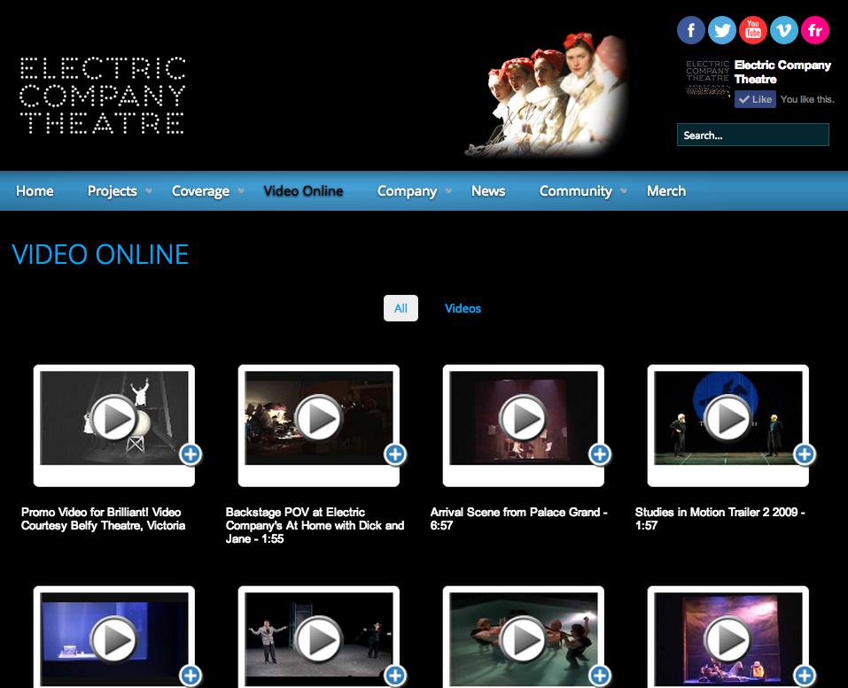 Electric Company Theatre