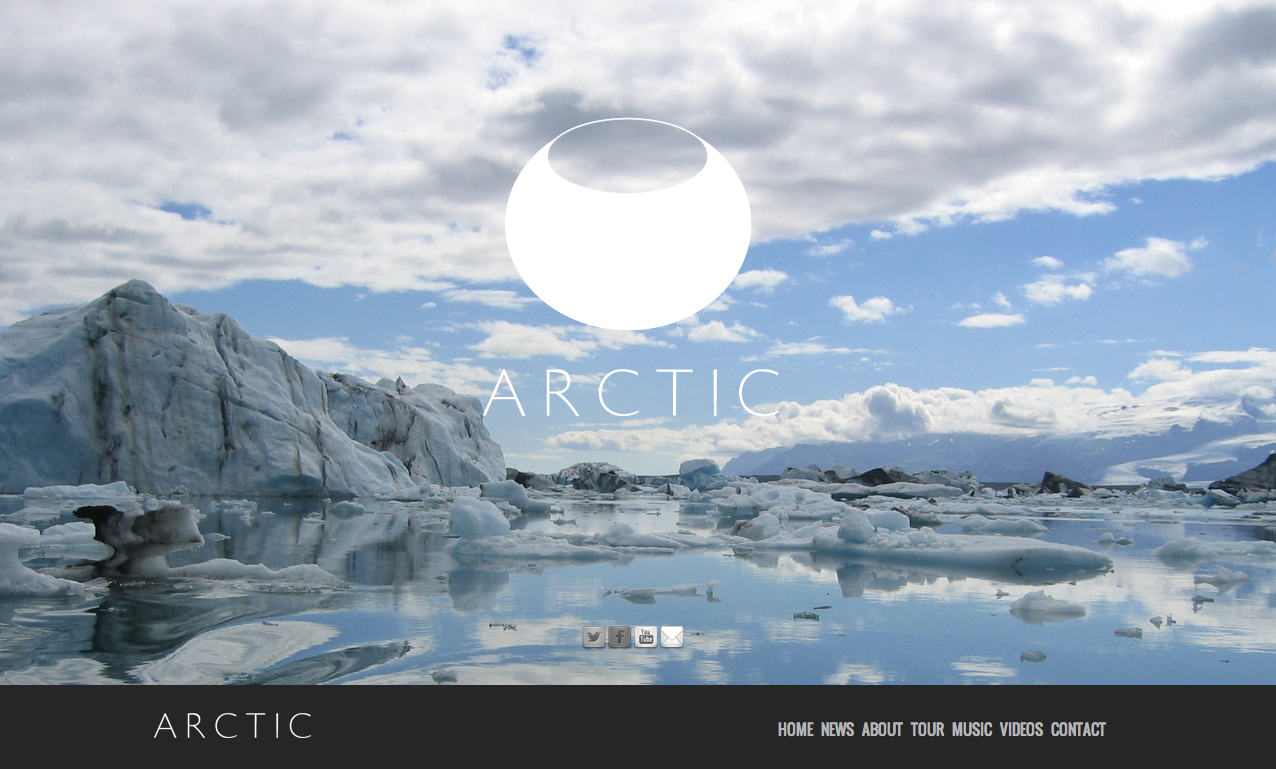 ARCTIC website