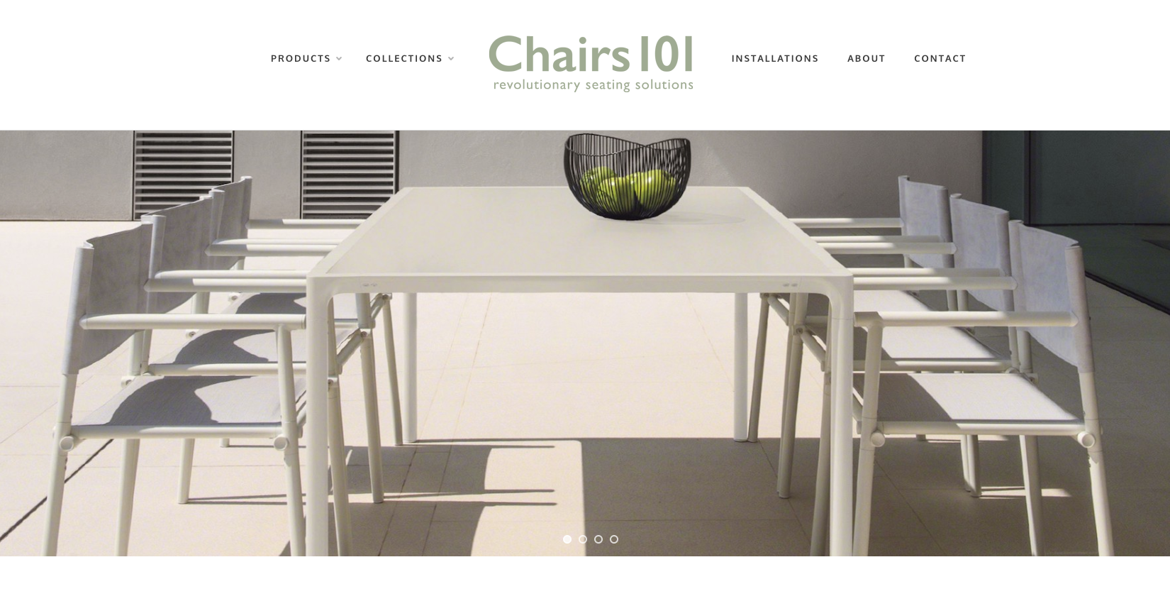 Chairs 101 website